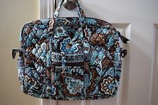 Vera Bradley METRO Shoulder Laptop School Bag Organizer Travel- NWT! Retired!