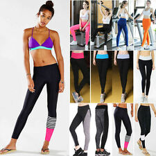 Women High Waist Leggings Running Yoga Sports Fitness Workout Gym Pants Trousers