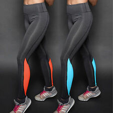 Womens Sports Leggings Stretchy Running Yoga Gym Fitness Pants Trousers Clothes