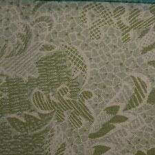 Quilting Fabric Cotton Calico Quilt FQ Green Fancy Floral by Classic Cottons