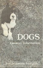 3) Dogs: General Information American + Dog Owner's Grooming Guide + Briards