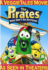 The Pirates Who Dont Do Anything - A Veggietales Movie DVD, 2008, Widescreen