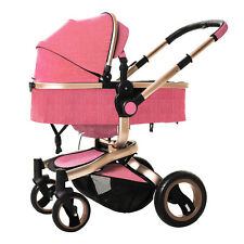Luxury Baby stroller Highest View Foldable Carriage travel system Pushchair new
