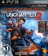 Uncharted 2: Among Thieves -- Game of the Year Edition (Sony PlayStation 3, PS3)