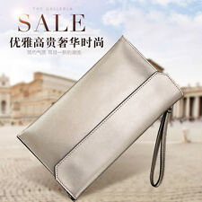 Leather Handbag Cowhide Chain Bag Women Purse Shoulder Bag Cross Body Bag