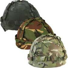 Kids Boys Army Plastic M1 Helmet British Camo Style  Military Combat Soldier