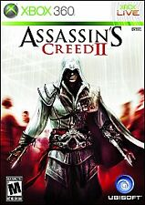Assassin's Creed II 2 [M] XBOX360 Disc, Case, Manual