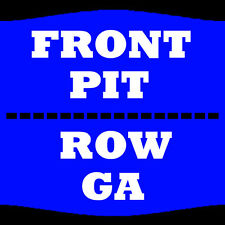 2 TIX LADY ANTEBELLUM 8/10 PIT GA DARIEN LAKE AMPHITHEATER DARIEN CENTER
