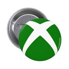 Xbox Icon / Symbol Pin / Button Badge 25mm, 38mm, 45mm, 58mm, 77mm