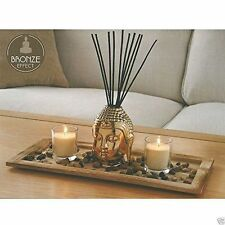 Buddha Reed Diffuser With Base Stones & High Quality Candle Sets
