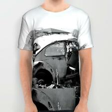 All Over Printed T-shit: Ruined Volkswagon (an original designer unisex t-shirt)