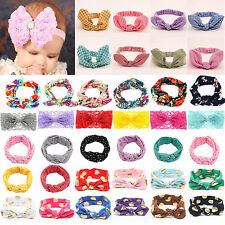 Kids Girls Baby Headband Toddler Lace Bow Flower Infant Hair Band Accessories