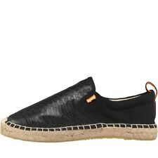 Superdry Womens Funky Espadrilles Black - sizes 3-8 - new