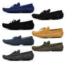 New Men casual Moccasin Slip on Loafer slip on comfort suede boats Driving Shoes