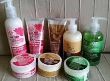 Body Shop Hand Creams,Butters & Washes Hemp,Almond,Wild Rose & Absinthe on Offer