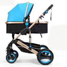 Baby Stroller 2 in 1 Carriage Infant Travel system Foldable Pushchair bassinet