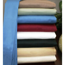 Uk Small Double 1200 TC Egyptian Cotton Complete Bedding Items All Solid Color