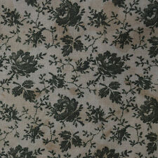 Quilt Fabric Cotton Calico Green Sage Roses Floral Print: FQ or Cut-to-Order