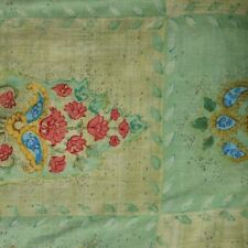 Quilt Fabric Cotton Calico Green Bouquets by JoAnn Fabrics: FQ or Cut-to-Order
