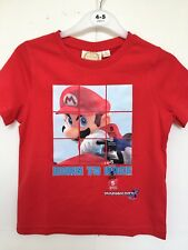 BNWT Born to Race - Mario Kart T Shirt. Red. Boys.  Age 3-10 Years