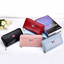 Fashion Women Wallet Genuine Leather Wallet Female Long Zipper Leather Purse