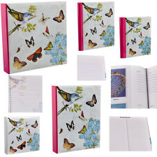 "Vintage Butterfly Photo Album 200 4x6"" /5x7"" 500 4x6"" Photos or Self Adhesive"