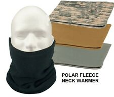 Polar Fleece NECK WARMER Cold Weather Gaiter Face Mask Ski Snowboard USMC Army