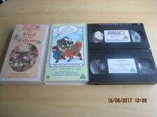 2 X Wind In The Willows VHS. Mole's Cousin & The Complete Wind In The Willows 2