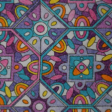 Quilt Fabric Cotton Calico Purple Geometric by JoAnn Fabrics: FQ or Cut-to-Order
