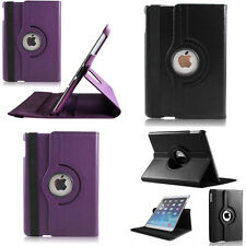 Rotating Smart Stand Case Cover Leather 360 Degree With Sleep Wake Fr iPad 2 3 4