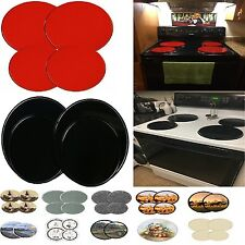 Stove Top Covers 4pcs Electric Cook Burner Oven Cover Kitchen Protector 15 Kinds