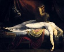 Classic Romantic Image from 1781, The Nightmare by Heinrich Fuseli