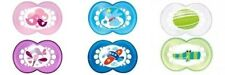 MAM Original 2Pk BPA Free Orthodontic Dummies Pacifiers Soother for 4-24 months