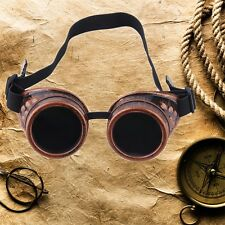 Cyber Goggles Steampunk Glasses Vintage Retro Welding Punk Gothic Victorian CE