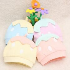 Soft Cotton Baby Kid Beanie Hats Cute Pink Infant Boys Girls Caps for All Season