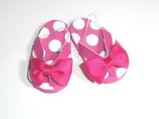 """Doll Clothes AG 18"""" Shoes Flip Flops Hot Pink Made To Fit 18"""" American Girl Doll"""