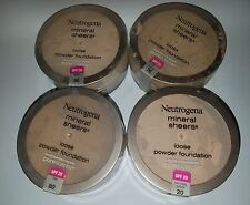 Neutrogena Mineral Sheers Loose Powder Foundation SPF 20 *Variety