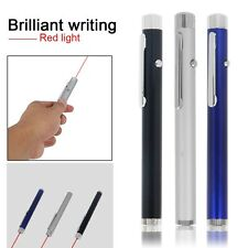 New Powerful Red Light Laser Pointer Pen Visible Beam Light 5mW High Power 650nm