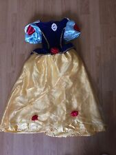 Disney Snow White Girls Princess Dress/Dressing Up Outfit/Costume Age 6-7 Years