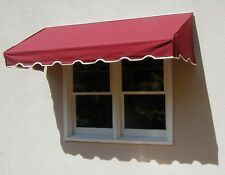 EasyAwn Classic Canvas Window or Door Awning Canopy with 7 Year Warranty