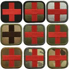 Paramedic Medic Cross EMT EMS Army Military Tactical Morale Desert Badge Patch