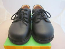 """Jumping Jacks Kids """"Kyle"""" - Black Leather Oxford Dress Shoe - Laces - NEW in box"""