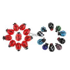 Hot Sale Lampwork Glass Spacer Loose Ladybug Beads 12mm for Jewelry Making Craft