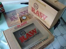 RAW Glass Rolling Tray - Limited Edition Roll Tray Plus Options To Choose From