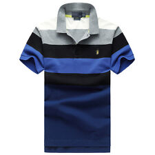 NWT Fashion Men's Polo T Shirts cotton short sleeve ATHLETIC SIZE S M L XL XXL