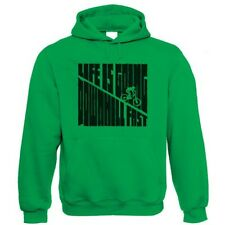 Downhill Fast Hoodie - DH Mountain Bike MTB hoodie - Choice of Colours