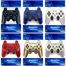 NEW Official Genuine  Sony PS3 Wireless PLAYSTATION 3 DUALSHOCK3 Controller +USB