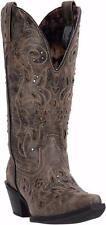 Laredo Western Womens Boots Vanessa Snip Toe Distressed Brown 52050