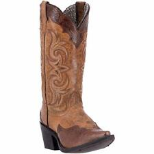 Laredo Western Womens Boots Ginger Snip Toe Brown 52146