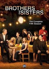 Brothers and Sisters: The Complete Fifth Season (DVD, 2011, 5-Disc Set) Sealed